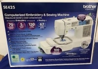 Brother SE425 Embroidery Machine , Brand new Brother SE425 Embroidery Machine