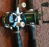 Baitcaster , 2 bait casters 1 is a 5000D and 1 is a 5000C