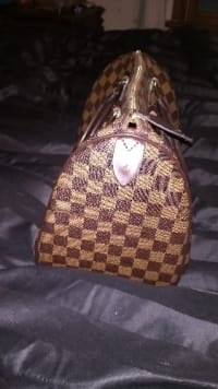 Louis Vuitton hand bag, Louis Vuitton damiere Ebenezer speedy 35 hand bag