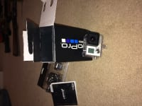 GoPro hero 3, GoPro hero, Still in the box never used it, has all cords that came with it also still wrapped in the box