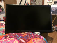 Hp v241p Monitor, Hp K0Q34AA, 2016, New never used 23.6 in hp monitor top of the line