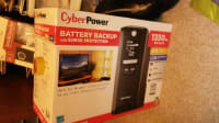 Cyber backup, Cyber Backup Battery, 2014, Cyber Power Battery Backup up to 420 minutes