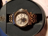 Men's Citizen Eco-Drive 8651 Moon Phase Watch, Citizen Eco Drive 8651, Original box and paperwork. no defects.