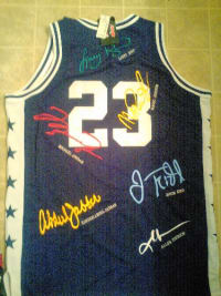 detailed pictures 0988f 51d4d Sell or buy a used A classic hardwood throwback NBA jersey