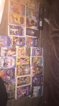 Sell or buy a used Disney VHS tapes