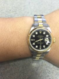 Ladies Datejust Oyster Perpetual Rolex, Luxury Watch, Rolex Datejust Oyster Perpetual , Purchased about 13 years ago, not worn daily. Great condition. Original price $8,800.
