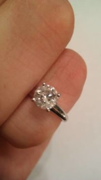 Diamond Ring!, Diamond ring for sale. New condition 3/4 cttw. , Gently used