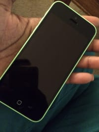 iPhone 5c, Green, New, still in box
