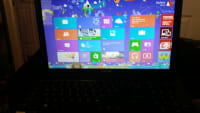 laptop, Toshiba black with windows 8.  Serial number: 3D226378Q, Like new