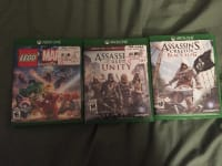3 Xbox one games, Other, Xbox , 3 Xbox one games