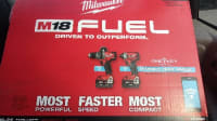 MILWAUKEE M18 FUEL 2796-22, Combo hammer drill and impact