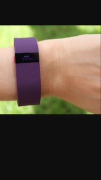 Fitbit charge hr, Luxury Watch, Fitbit Charge HR, Large, plum colored, brand new Fitbit Charge HR