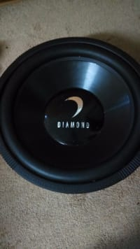 "Diamond sub woofer 15"", Electronics, Diamond, 2008, 15"" works fine"