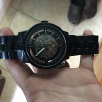 Watches, Jewelry, Black kenneth watch gold pated michael kors, Watches