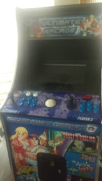 ultimate arcade from chicago gaming company, Electronics, chicago gaming company, not sure, Right joystick issues at times. In acceptable working condition do not mind the dust just unused for a while. Throw the offers my way please and thank you