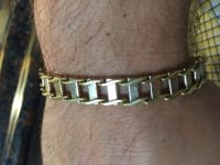 18k bracelet , Jewelry, 49.0 grams, Would like to borrow some money to pay some taxes.