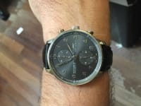 18k IWC chronograph. , Luxury Watch, IWC , Like new gold chrono. No box or papers.