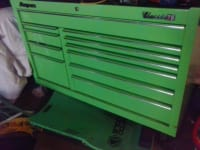 snap on classic 78 toolbox, Model# kra2411pjj    extreme green   great condition , Gently used