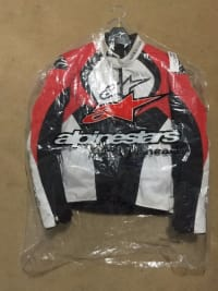 Alpinestars GP-R Leather Jacket, Other, A sport riding jacket that is superbly styled, the GP-R Leather Jacket incorporates a multi-panel chassis with premium leather and extensive stretch paneling, as well as excellent protective and performance features. Safe and secure waist and sleeve closures ensure a highly personalized fit for this performance jacket. Highly durable and technical premium 1.3 leather, multi-panel construction for superb abrasion resistance, with reinforced stitching for optimum tear resistance and strength. Premium YKK