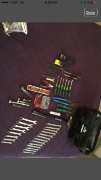 Bag full of different types of tools , Tools, Equipment, Bag full of different types of tools