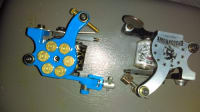 Tattoo gun set, Other, Blue with bullet.38 rounds.. the other is black with dragon in graved