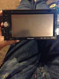 Touch screen car radio, Pioneer Avic-D3 touch screen car radio Model# AVIC-D3, Like new