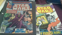 1977 starwars comics, Antique, Collectible, have alot more kept in plastic ...in the pic are #24 and #30
