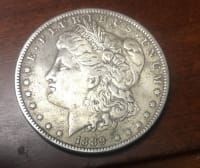 1889 Morgan Silver dollar, Antique, Collectible, 1889 Morgan Silver dollar US mint