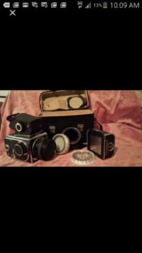 Camera Kiev 88 TTl, Antique, Collectible, medium format camera , extra lenses - good working condition, works