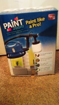 Paint zoom sprayer, Tools, Equipment, Paint Zoom home paint sprayer brand new never used in original package.