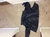 Leather coat, Other, Heavy, made by gap, 100% real leather