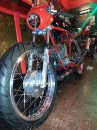 1968 Puch 123 RGS, Vehicle, 1968, PUCH, 123 RGS, Fire Red, 5miles