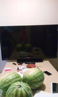 flatscreen tv, Magnavox 50 inch flat screen tv, Like new