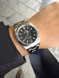 rolex explorer 1, Luxury Watch, Rolex Explorer I, Bought in Greece. With Box and Cards.