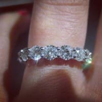 1.2ct high quality wedding band , Diamond wedding band weight is 1.2ct its Size 6.5., Like new