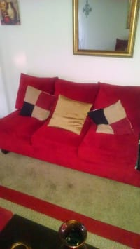 furniture, Red, Like new