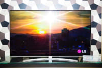 """LG 65"""" 4K Smart TV, LG65UH7700-UB, 2017, Excellent condition with original remote and includes wall mount."""