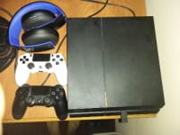 playstation 4 , sony, 2015, I have had my ps4 for 2 years now. No damages on it or anything just dont play it. It has 2 controllers and a ps4 gold headset and all the cords.