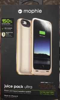reputable site 712b8 2d98f Mophie juice pack ultra