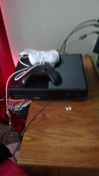 Xbox one, Xbox one, 2015, 500 MB,, I think, Xbox one,, bought at Xmas 2015 ,,barely used ,,o e wireless controller and one wired controller, has HDMI cable and the other cable,,great condition,, will also pawn,,black ops 3 ,barely played,,, mortal combat 10, and Disney infinity , 3.0 ., 2538886467