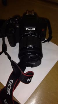 CANON REBEL T6I, Canon rebel t6i, 2015, Still in great condition! Doesn't have battery pack charger! But you can get one at Walmart for less than $20, also comes with a telephoto lens ( for up close shots )