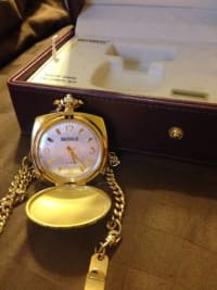Men's 14K Gold Bernus Pocket Watch, Men's 14K Gold Bernus Pocket Watch for sale., Gently Used