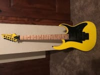 Sell or buy a used Ibanez RG Series RG450MB Electric Guitar Yellow