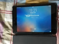 Ipad 4 mini, Ipad Mini 4, 2016, perfect condition with screen protector and case no scratches looks brand new, Verizon