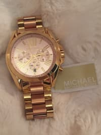 6b9f8798154a Sell or buy a used Michael Kors Women s Chronograph Bradshaw Two ...
