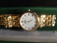 18k Gold mens swiss watch, new Raymond Weil gold men's watch, Like new