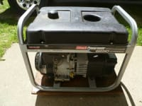 Generator- Coleman Powermate Premium Plus 6250 Watt, Coleman Powermate Premium Plus Portable Electric Generator
