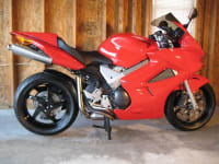 2003 Honda VFR800 4333 Miles, Beautiful 2003 Honda VFR800 Italian Red w/Black Wheels