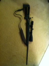 Savage model 110 7mm rem mag, Savage model 110 7mm rem mag w/18x bushnell scope ser#f116091, Gently used