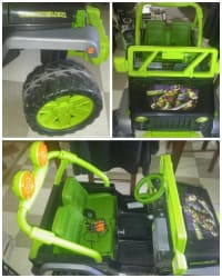 Powerwheel, Ninja turtle power wheel